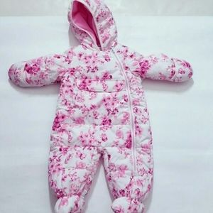 over all baby snow outfit